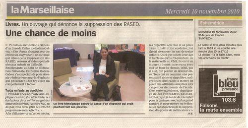 La Marseillaise le 10.11.10