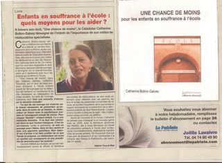 Article Le Patriote 12.2010