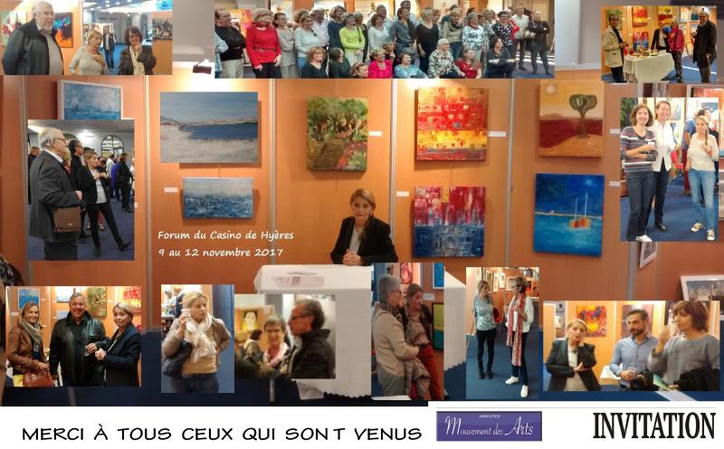 Expo Hyères 12 au 19 novembre 2017