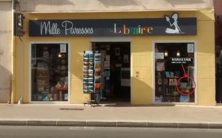En vitrine Librairie Mille Paresses le Pradet